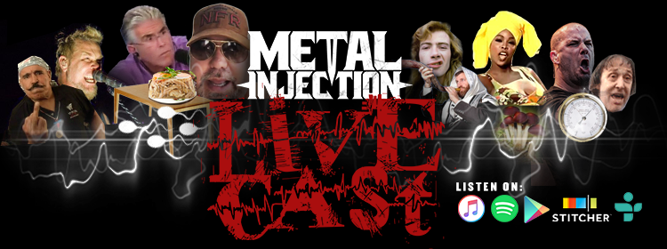 METAL INJECTION LIVECAST # 567 – The Kidney Tier avec l'invité spécial Lou Brutus