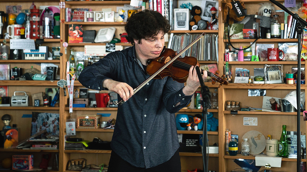 Augustin Hadelich: Tiny Desk Concert