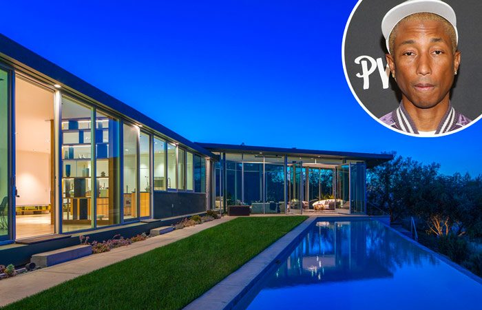 Pharrell inscrit Hollywood Hills Home pour 12 millions de dollars