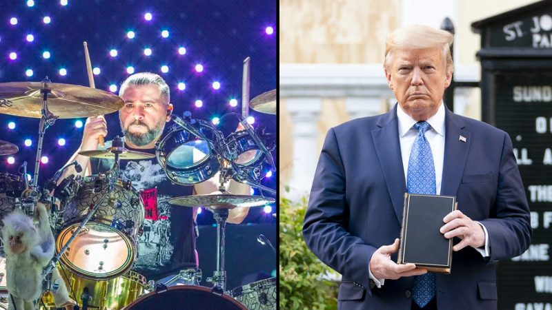 "SYSTÈME D'UN BATTEUR DE BAS DOWN Knocks Democrats, ""The True Bigots"", disant ""You Can't Handle Free Speech"""