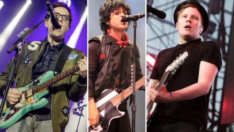 Green Day, Fall Out Boy, Weezer reprogramment les dates de «Hella Mega Tour» pour 2021