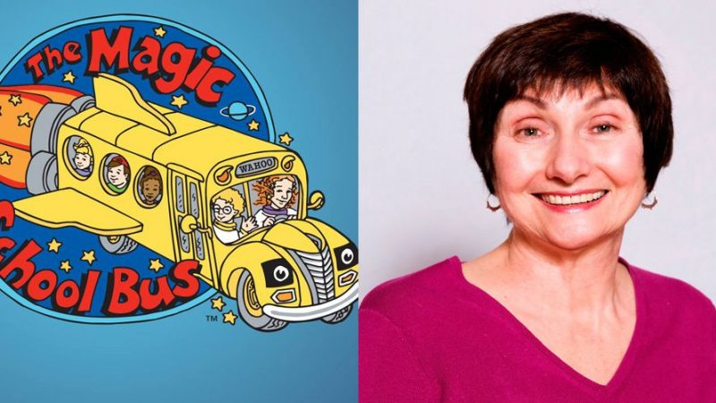 DÉCHIRURE. Joanna Cole, auteure du Magic School Bus décède à 75 ans