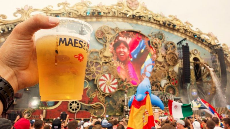 Tomorrowland propose des options de restauration et de boissons exclusives pour un festival virtuel