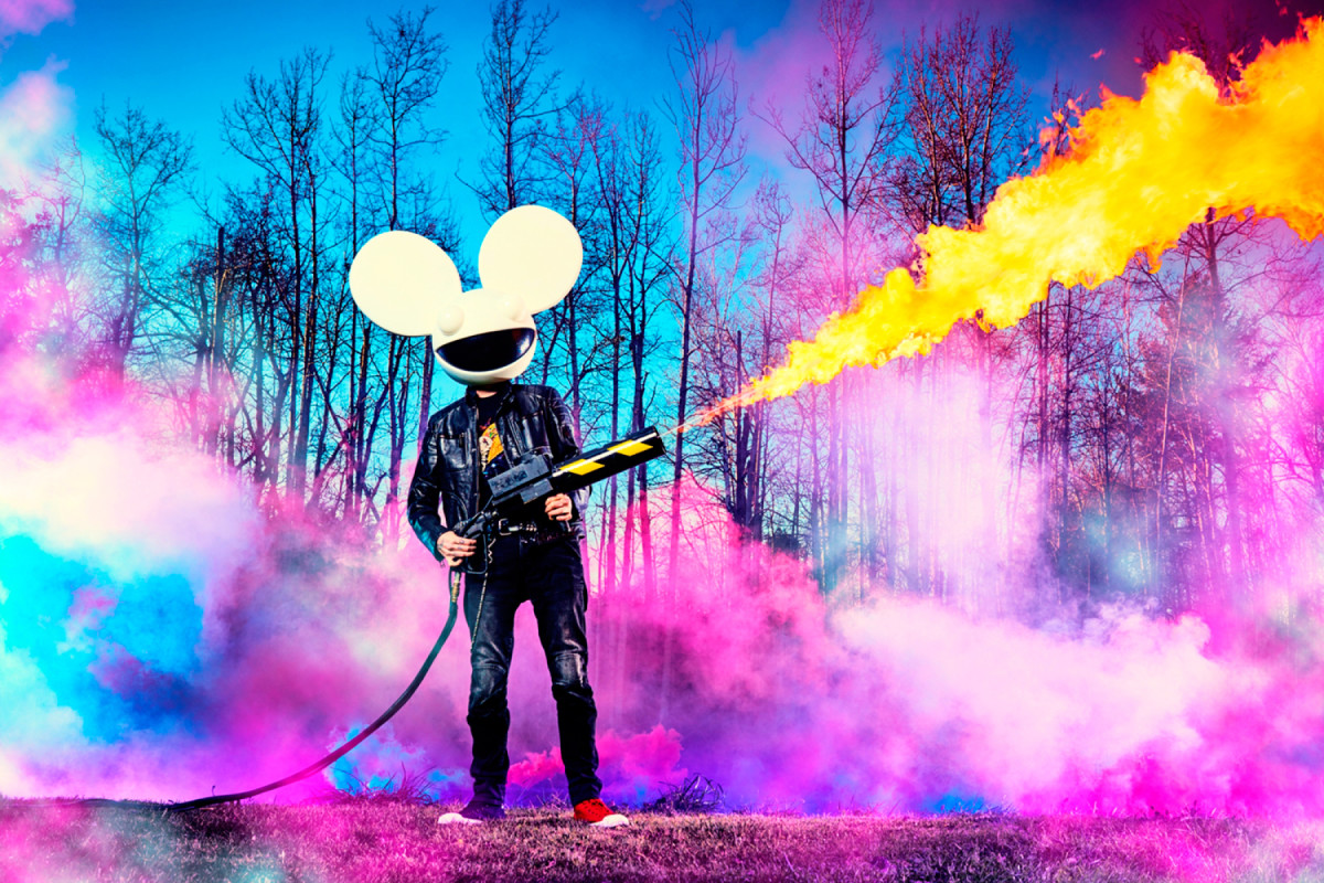 "Jay Robinson livre une forte dose d'acide House sur Monster ""Pomegranate"" Remix pour deadmau5 et The Neptunes – EDM.com"