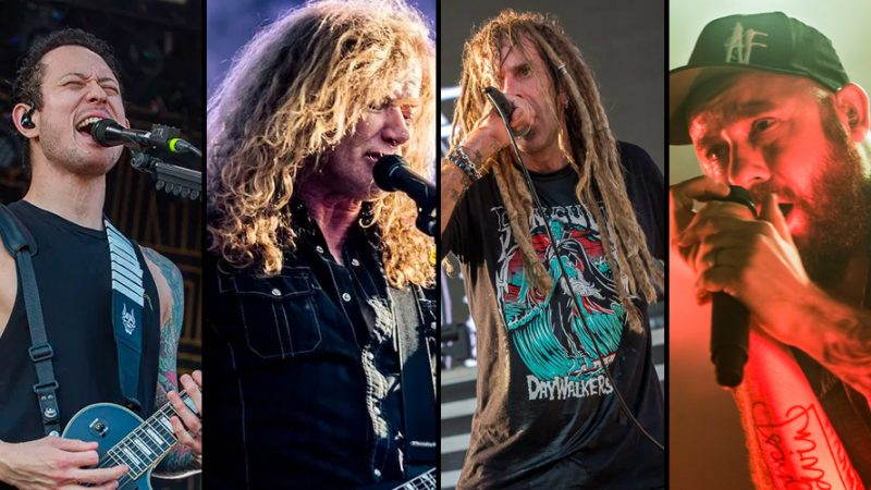 "MEGADETH, LAMB OF GOD Annonce des Dates 2021 avec TRIVIUM, EN FLAMMES Pour ""The Metal Tour of the Year"""