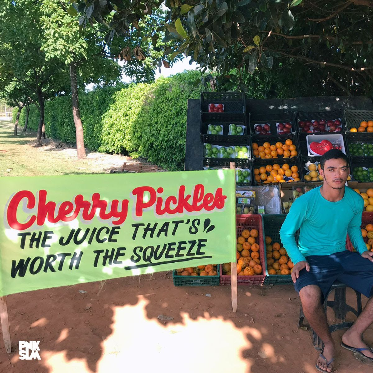 cherry pickles la pochette de jus Cherry Pickles annonce un nouvel album The Juice thats Worth The Squeeze, Share Out of This World: Stream