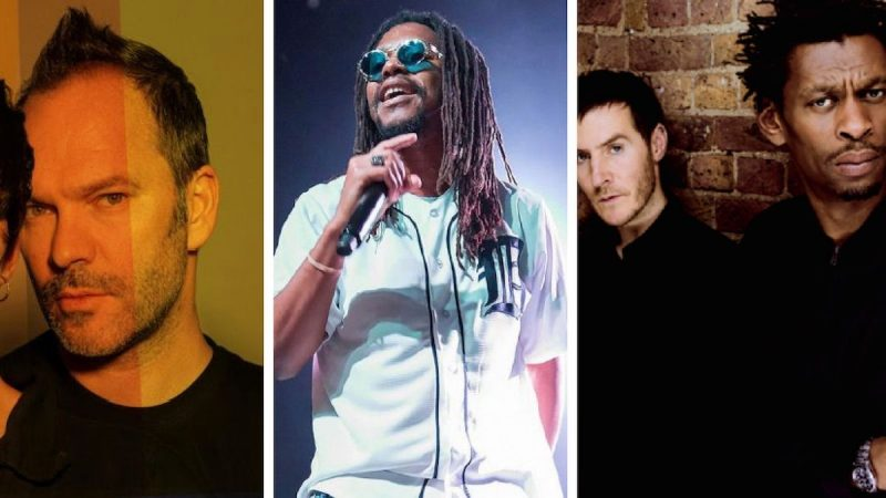 Nigel Godrich, Lupe Fiasco, Massive Attack, More Slam PDG de Spotify