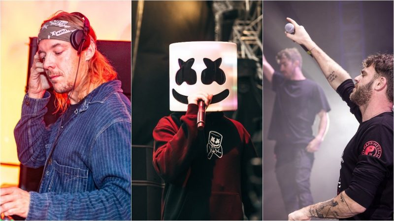 Diplo, Marshmello et The Chainsmokers représentent la danse aux iHeartRadio Music Awards
