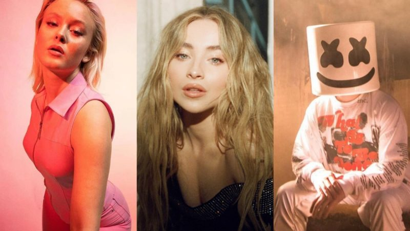 "Zara Larsson recrute Sabrina Carpenter pour le remix du single ""WOW"" produit par Marshmello – EDM.com"