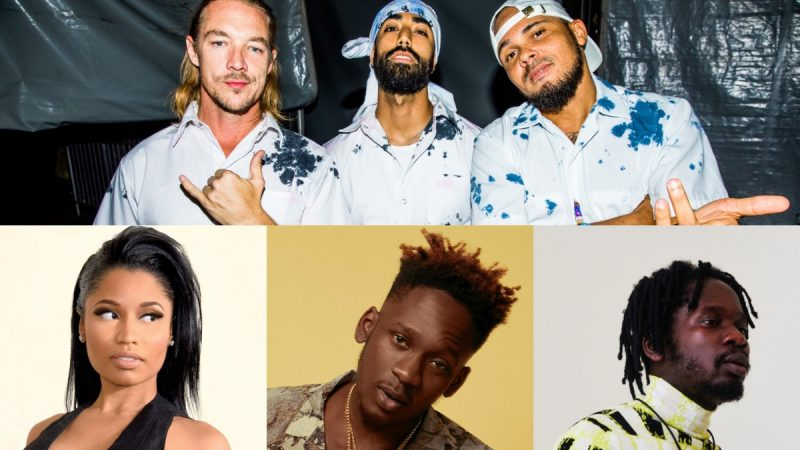 "M. Eazi et le major Lazer abandonnent une collaboration massive ""Oh My Gawd"" avec Nicki Minaj et K4mo – EDM.com"