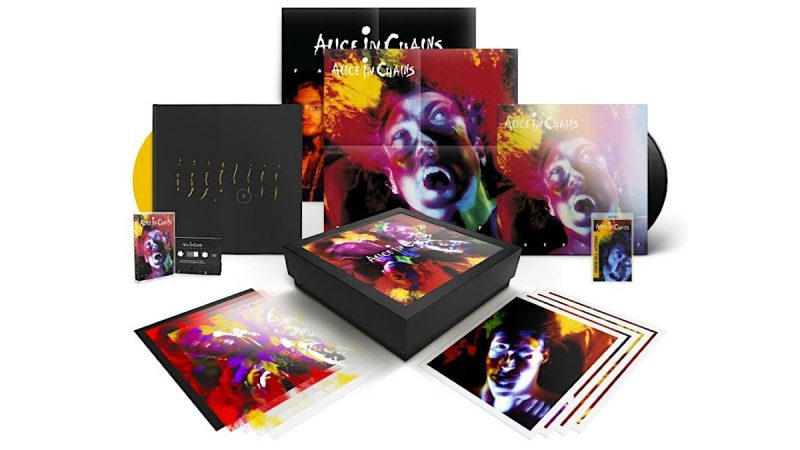 Alice in Chains sortira le coffret de luxe du 30e anniversaire du lifting