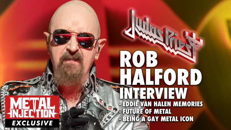ROB HALFORD parle des souvenirs d'EDDIE VAN HALEN; Future of Metal, Being Gay Icon – L'interview d'injection de métal