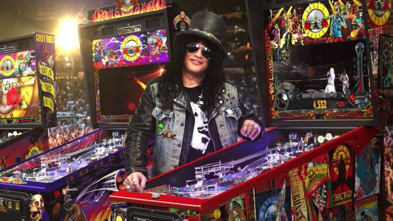 """Guns N 'Roses dévoile des flippers """"Not in This Lifetime"""""""