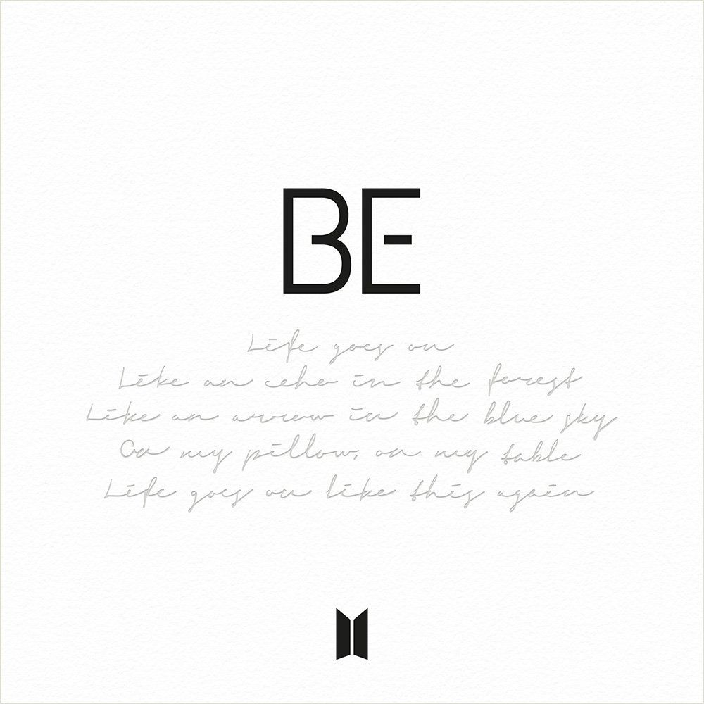 BTS Reveal Tracklist pour le nouvel album BE (Deluxe Edition)