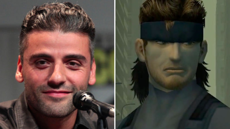 Oscar Isaac Cast comme Solid Snake dans le film Metal Gear Solid