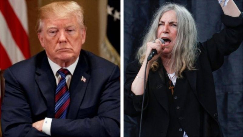 "Patti Smith dit que l'ère présidentielle de Trump a été ""terrible"""
