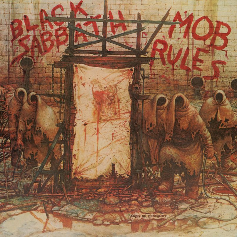 Black Sabbath Mob Rules Albums de Black Sabbath Dio Era Heaven and Hell, Mob Rules Obtenir des rééditions de luxe