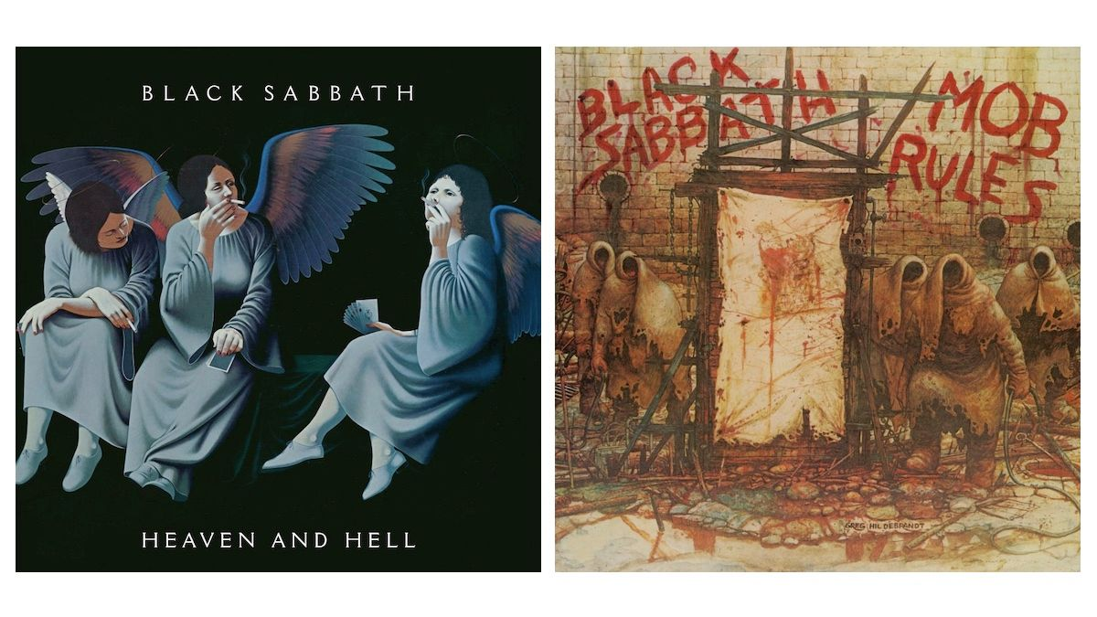 Black Sabbath's Heaven and Hell, Mob Rules LPs pour obtenir des rééditions de luxe