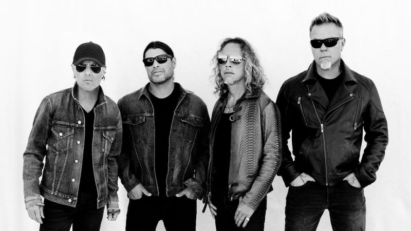 Metallica compte plus d'un milliard de flux Spotify en 2020
