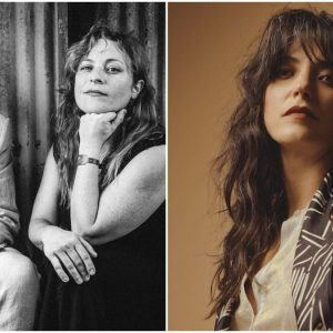 "Stream Shovels & Rope et la couverture de Sharon Van Etten de ""In My Room"""
