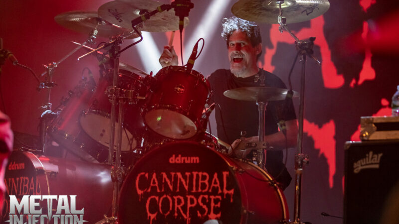 Le batteur de CANNIBAL CORPSE déclare que le nouvel album est « ma performance de batterie la plus intense physiquement »