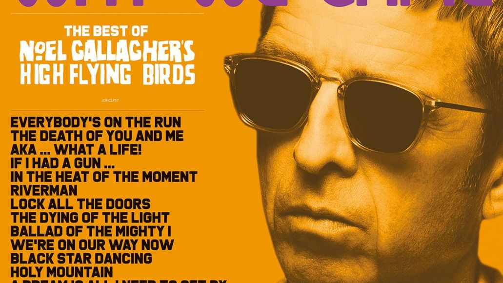 noel gallagher's back the way we came vol 1 (2011-2021) great hits album cover art artwork we are on our way now