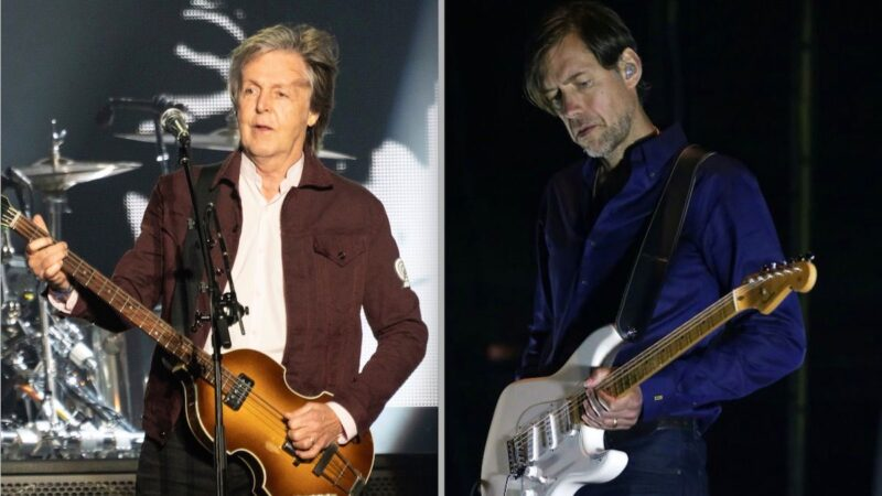 Écoutez le remix d'Ed O'Brien de Radiohead de « Slidin ' » de Paul McCartney