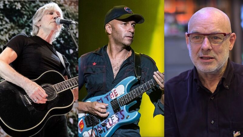 Roger Waters, Brian Eno et Tom Morello se produisent sur Live For Gaza Livestream: Regardez