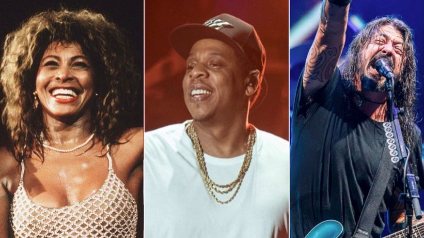 Rock & Roll Hall of Fame Class 2021: Foo Fighters, JAY-Z, Tina Turner et Go Go's