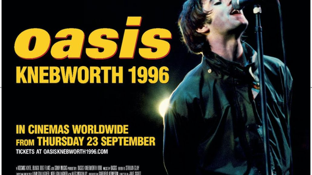 oasis annonce documentaire oasis knebworth 1996