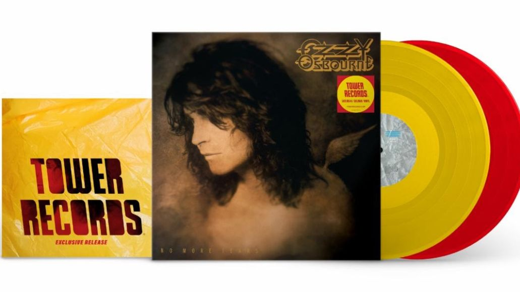 Ozzy No More Tears Tower Records